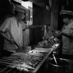 Stockfleisch aus Shanghai