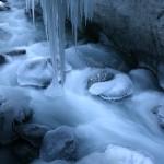 Winterstrom in der Partnachklamm